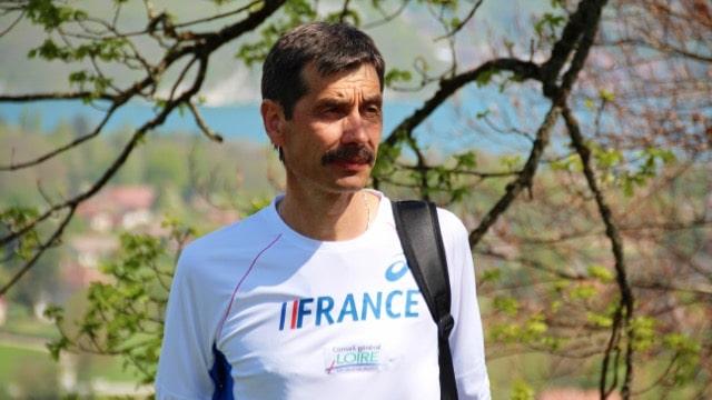Philippe Propage entraineur de l'équipe de France de Trail