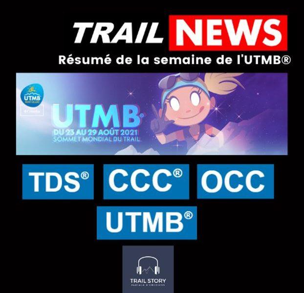 UTMB 2021 Trail story